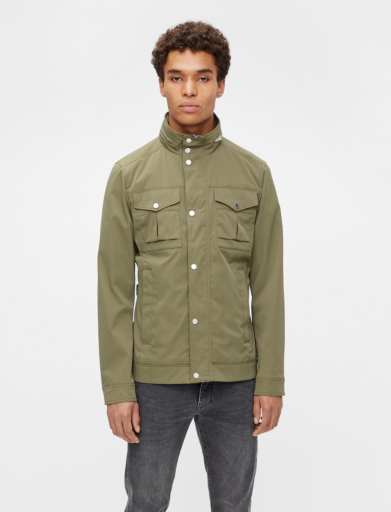 J. Lindeberg - Bailey Poly Stretch jacket - leichte jacken - lake green - 0