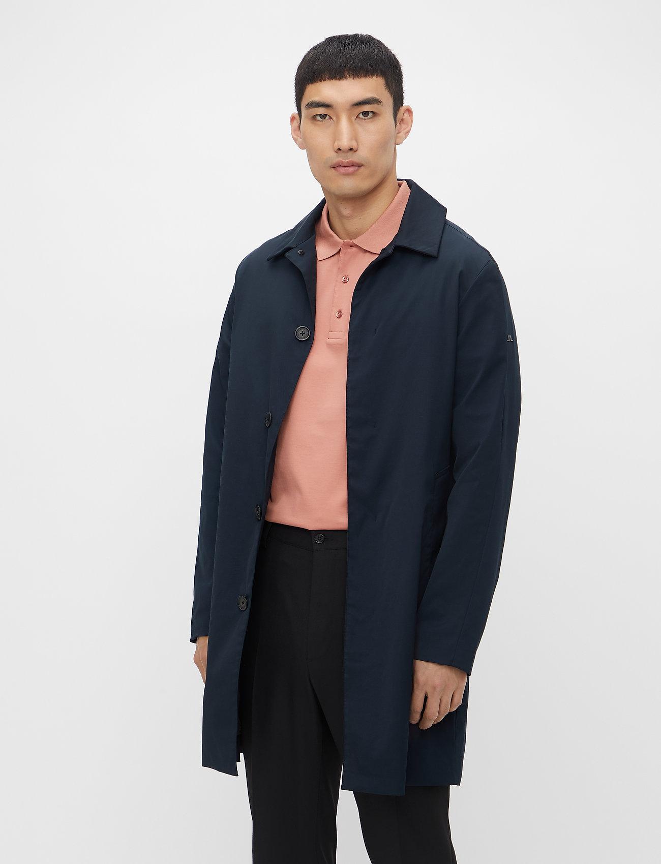 J. Lindeberg - Cane Micro Twill Coat - manteaux legères - jl navy - 0