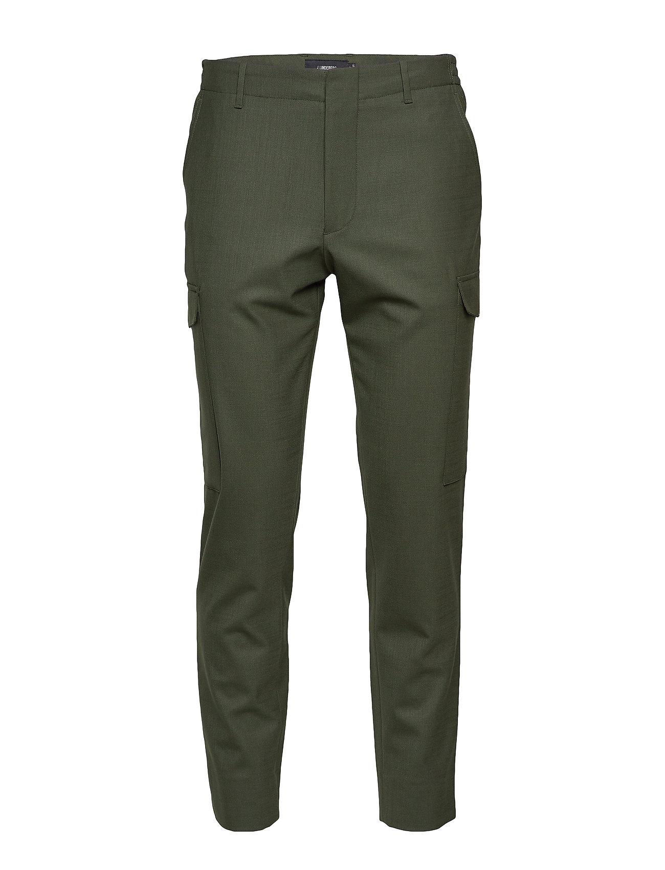 Image of Sasha Cargo-Active Wool Trousers Cargo Pants Grøn J. Lindeberg (3351889737)