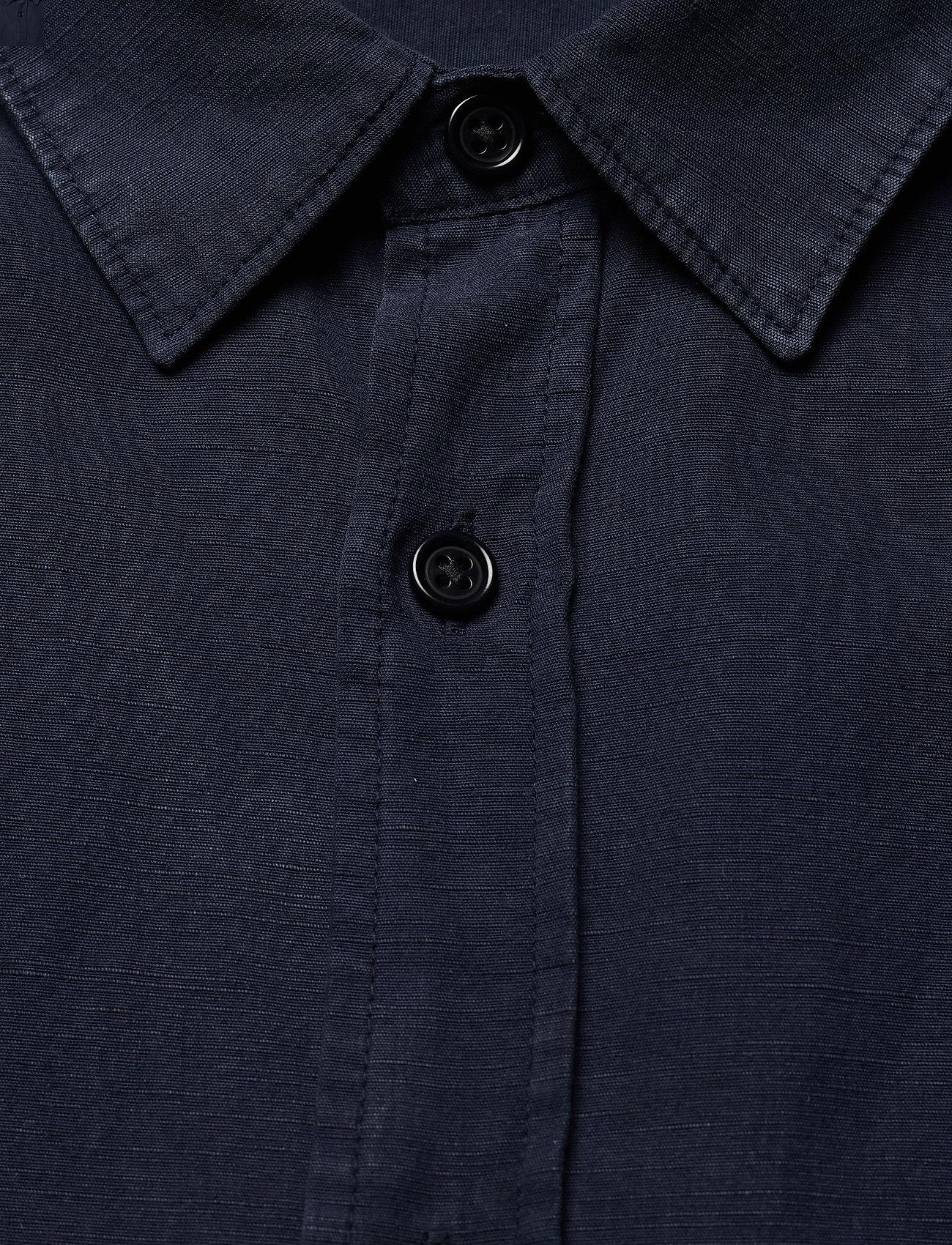 J. Lindeberg Tencel Slub Texture Slim Shirt - Skjorter JL NAVY - Menn Klær