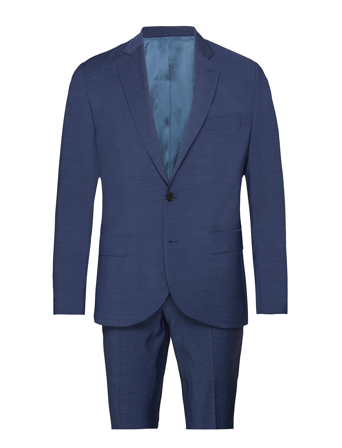 J. Lindeberg Hopper Soft/P-Comfort Wool - MID BLUE