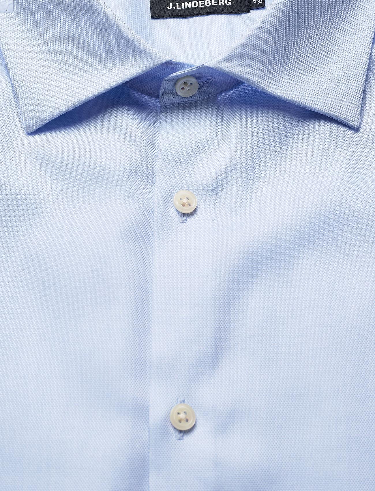 J. Lindeberg Daniel CA TL Non-iron Oxford - Skjorter LT BLUE - Menn Klær