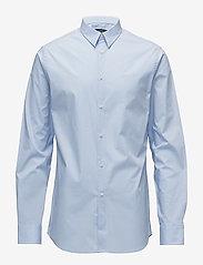 J. Lindeberg - Daniel CBU Clean Poplin - basic-hemden - lt blue - 0