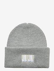 J. Lindeberg - Jive Beanie-Spongy Wool - czapka - grey melange - 0