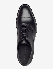 J. Lindeberg - Hopper Leather Oxford Shoe - schnürschuhe - black - 3