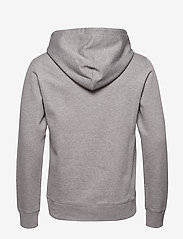 J. Lindeberg - Throw Hood-Clean sweat - basic sweatshirts - grey melange - 1
