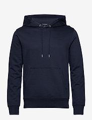 J. Lindeberg - Throw Hood-Clean sweat - basic sweatshirts - jl navy - 0