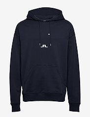 J. Lindeberg - Gordon-JLJL Sweat - basic sweatshirts - jl navy - 0