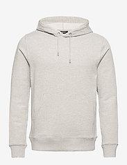 J. Lindeberg - Throw Clean Sweat Hoodie - basic-sweatshirts - grey melange - 1