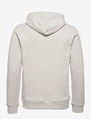 J. Lindeberg - Throw Clean Sweat Hoodie - basic-sweatshirts - grey melange - 2