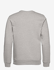 J. Lindeberg - Throw C-neck Sweatshirt - basic-sweatshirts - grey melange - 2