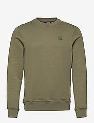 J. Lindeberg - Verge Logo Sweatshirt - basic-sweatshirts - lake green - 0