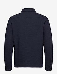 J. Lindeberg - James Jersey Overshirt - oberteile - jl navy - 2