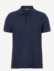 J. Lindeberg - Troy ST Pique Polo Shirt - kurzärmelig - jl navy - 0