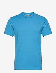 J. Lindeberg - Silo T-shirt - basic t-shirts - spring blue - 1