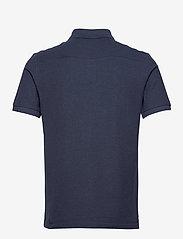 J. Lindeberg - Troy Polo Shirt Seasonal Pique - kurzärmelig - midnight blue melange - 2