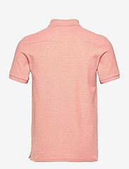 J. Lindeberg - Troy Polo Shirt Seasonal Pique - kurzärmelig - rose melange - 1