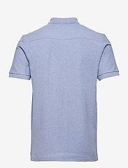 J. Lindeberg - Troy Polo Shirt Seasonal Pique - kurzärmelig - spring blue melange - 2