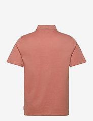 J. Lindeberg - Miles Jersey Polo Shirt - kurzärmelig - rose coppar - 2