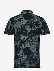 J. Lindeberg - Brand Printed Polo Shirt - kurzärmelig - jl navy - 2