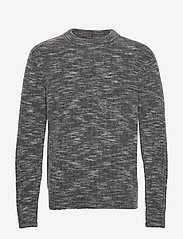 J. Lindeberg - Ibbe-Fuzzy alpaca - basic strik - dark grey - 0