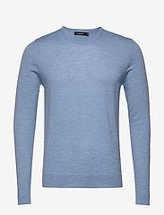 J. Lindeberg - Newman-Perfect Merino - basic strik - dusk blue - 0