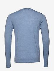 J. Lindeberg - Newman-Perfect Merino - basic strik - dusk blue - 1