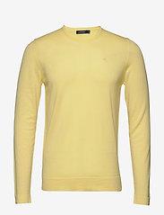 J. Lindeberg - Newman-Perfect Merino - basic strik - still yellow - 0