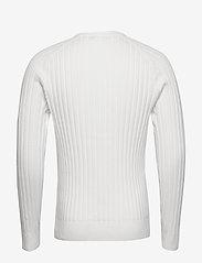 J. Lindeberg - Jace-Contrast knit - basic strik - cloud white - 1