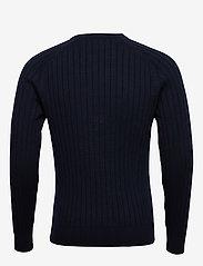 J. Lindeberg - Jace-Contrast knit - basic strik - jl navy - 1
