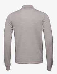 J. Lindeberg - Nyle-Perfect Merino - basic strik - grey melange - 1