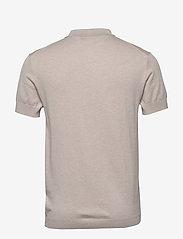 J. Lindeberg - Ridge-Cotton Silk - kortærmede - cloud grey - 1