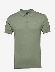 J. Lindeberg - Ridge-Cotton Silk - kortærmede - sage green - 0