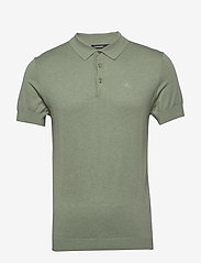 J. Lindeberg - Ridge-Cotton Silk - kortærmede - sage green - 1