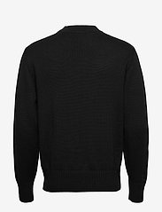 J. Lindeberg - Beckert-Wool Coolmax - basic strik - black - 1