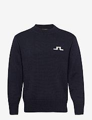 J. Lindeberg - Beckert-Wool Coolmax - basic strik - jl navy - 0