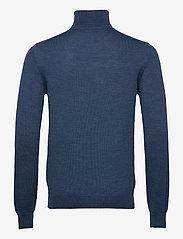 J. Lindeberg - Lyd Merino Turtleneck Sweater - basic-strickmode - egyptian blue melange - 1