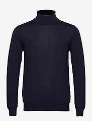 J. Lindeberg - Lyd Merino Turtleneck Sweater - basic-strickmode - jl navy - 0