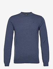 J. Lindeberg - Lyle Merino Crew Neck Sweater - rundhals - egyptian blue melange - 0