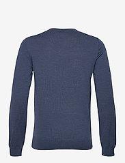 J. Lindeberg - Lyle Merino Crew Neck Sweater - rundhals - egyptian blue melange - 1