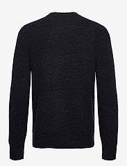 J. Lindeberg - Isaac Crew Neck Sweater - basic-strickmode - navy melange - 1
