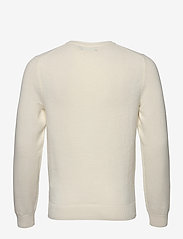 J. Lindeberg - Andy Structure C-Neck Sweater - basic-strickmode - cloud white - 2