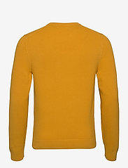 J. Lindeberg - Andy Structure C-Neck Sweater - basic-strickmode - golden orange - 2