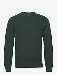 J. Lindeberg - Andy Structure C-Neck Sweater - basic-strickmode - hunter green - 1