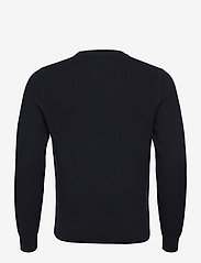 J. Lindeberg - Andy Structure C-Neck Sweater - basic-strickmode - jl navy - 2