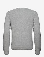 J. Lindeberg - Andy Structure C-Neck Sweater - basic-strickmode - stone grey melange - 2