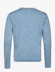 J. Lindeberg - Niklas Mouline Crew Neck - basic-strickmode - spring blue - 2