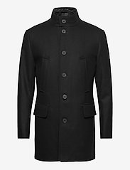 J. Lindeberg - Kali Wool Coat - wollmäntel - black - 1
