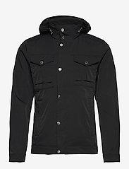 J. Lindeberg - Bailey Poly Stretch jacket - leichte jacken - black - 1