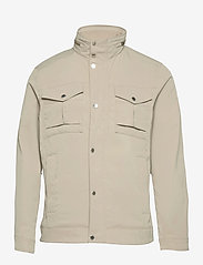 J. Lindeberg - Bailey Poly Stretch jacket - leichte jacken - sand grey - 1